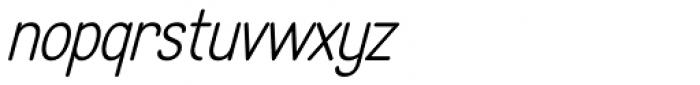 LA Headlights BTN Italic Font LOWERCASE