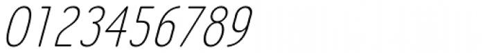 LA Headlights BTN Light Italic Font OTHER CHARS
