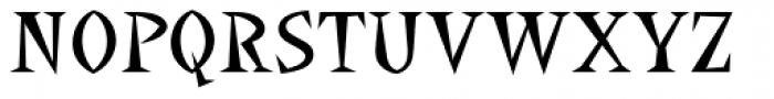 La Bamba Font UPPERCASE