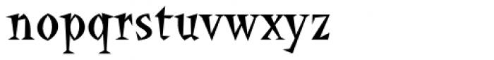 La Bamba Font LOWERCASE