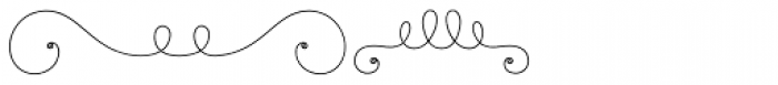 La Chic Frames Shaded Font UPPERCASE