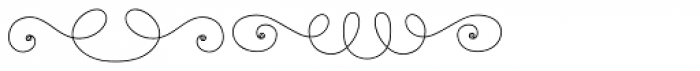La Chic Frames Shaded Font LOWERCASE
