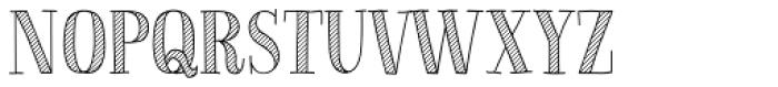 La Chic Shaded Pro Font UPPERCASE