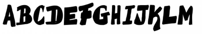 La Fuente Regular Font UPPERCASE