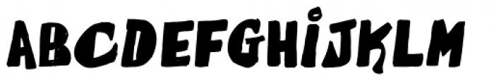 La Fuente Regular Font LOWERCASE