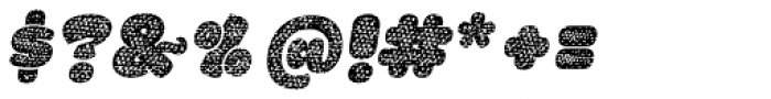 La Mona Pro Cloth Mix Italic Font OTHER CHARS