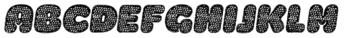 La Mona Pro Cloth Mix Italic Font UPPERCASE