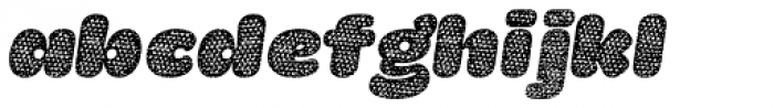 La Mona Pro Cloth Mix Italic Font LOWERCASE