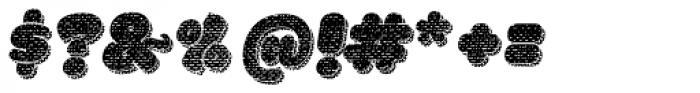La Mona Pro Cloth More Shadow Texture Italic Font OTHER CHARS