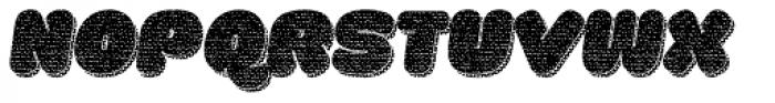 La Mona Pro Cloth More Shadow Texture Italic Font UPPERCASE