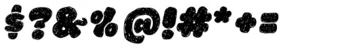 La Mona Pro Hand Italic Font OTHER CHARS