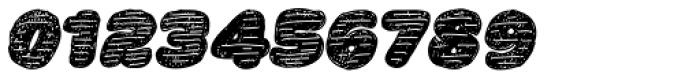 La Mona Pro Hand More Texture Italic Font OTHER CHARS