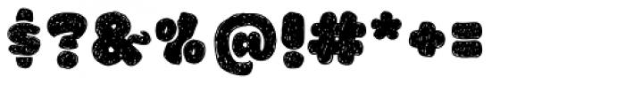La Mona Pro Hand Font OTHER CHARS