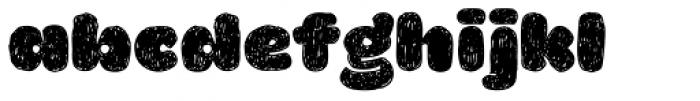 La Mona Pro Hand Font LOWERCASE
