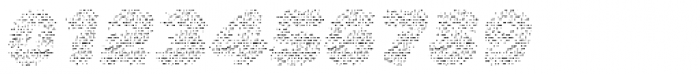 La Mona Pro Layer Cloth Italic Font OTHER CHARS