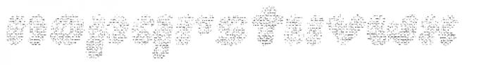 La Mona Pro Layer Cloth Italic Font LOWERCASE