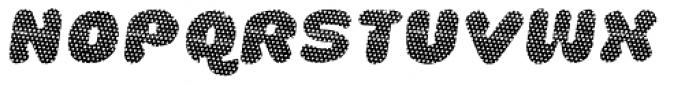 La Mona Pro Layer One Italic Font UPPERCASE