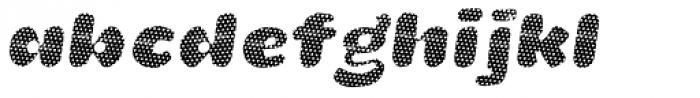 La Mona Pro Layer One Italic Font LOWERCASE