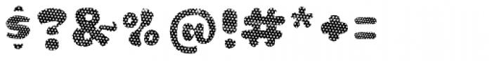 La Mona Pro Layer One Font OTHER CHARS