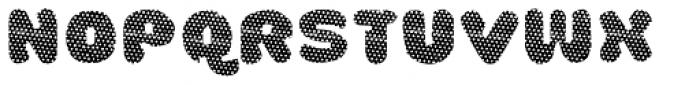 La Mona Pro Layer One Font UPPERCASE