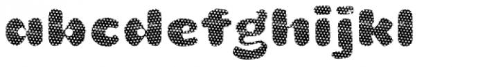 La Mona Pro Layer One Font LOWERCASE
