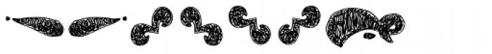 La Mona Pro Ornament Hand Font OTHER CHARS