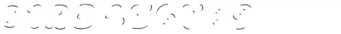 La Mona Pro Shine Line Italic Font OTHER CHARS