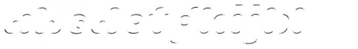 La Mona Pro Shine Line Italic Font LOWERCASE