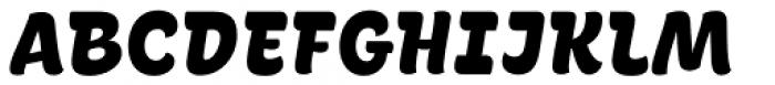 La Pica Pro Black Font LOWERCASE