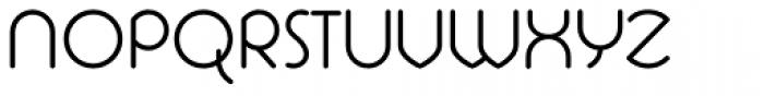 La Rotonda Thin Font UPPERCASE