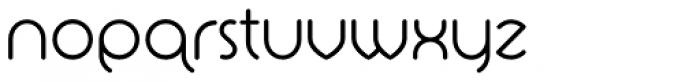 La Rotonda Thin Font LOWERCASE
