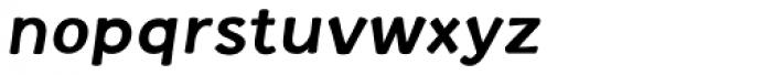 La Veronique Notes Bold Italic Font LOWERCASE