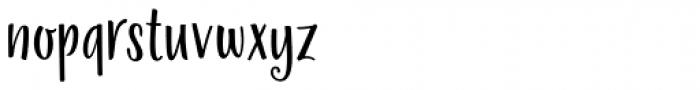 La Veronique Sans Font LOWERCASE