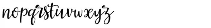 La Veronique Two Font LOWERCASE