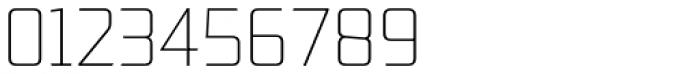 Lab Sans Pro UltraLight Font OTHER CHARS