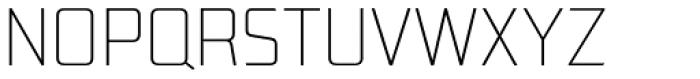 Lab Sans Pro UltraLight Font UPPERCASE