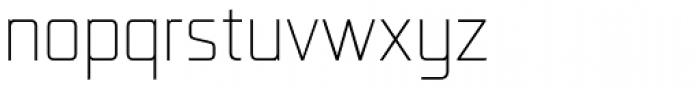 Lab Sans Pro UltraLight Font LOWERCASE