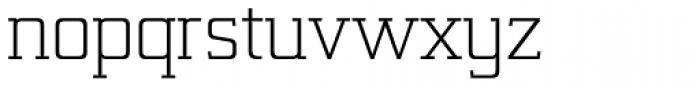 Lab Slab Pro Light Font LOWERCASE