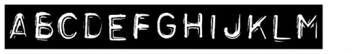 Label Gun Tape Font LOWERCASE