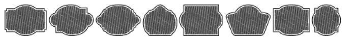 Label Pro XL BS Font LOWERCASE