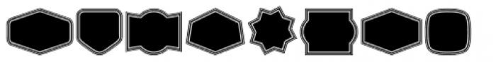 Label Pro XL Black B2 Font OTHER CHARS