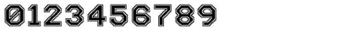 Labelo Uni Varsity Font OTHER CHARS