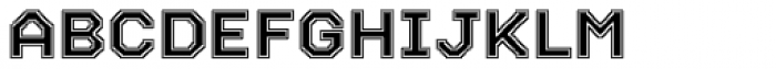Labelo Uni Varsity Font UPPERCASE