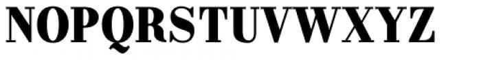 Labernia Condensed Black Font UPPERCASE