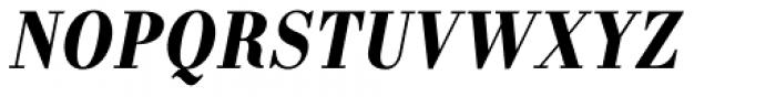 Labernia Condensed Bold Italic Font UPPERCASE