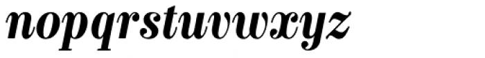 Labernia Condensed Bold Italic Font LOWERCASE