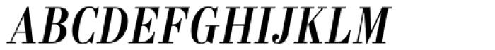 Labernia Condensed Regular Italic Font UPPERCASE