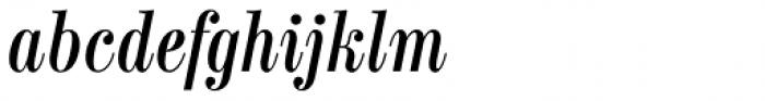 Labernia Condensed Regular Italic Font LOWERCASE