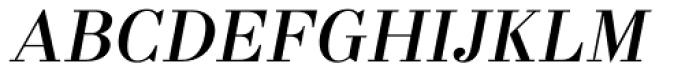 Labernia Regular Italic Font UPPERCASE