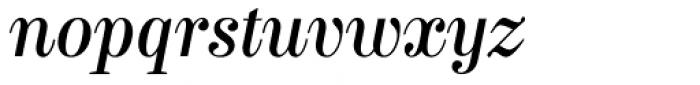 Labernia Regular Italic Font LOWERCASE